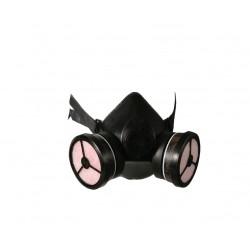 Μάσκα Μισού Προσώπου POLIMASK T100/2 Με Φίλτρο SEKUR 3101-007 Μάσκες Προστασίας + Φίλτρα