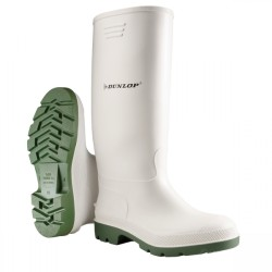 Μπότες (Γαλότσες) Εργασίας PVC Γόνατος Λευκές Pricemastor 007 Υποδήματα Εργασίας