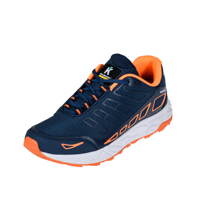 Παπούτσια Αθλητικό Μπλε - Πορτοκαλί Ignition Running SF25065 Krausmann