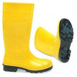 Γαλότσες Ασφαλείας Κίτρινο-Μαύρο S5 OEM
