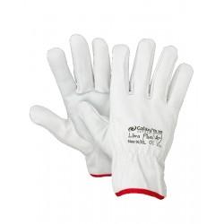 Γάντια Δερμάτινα Λευκά GALAXY LIBRA PLUS (9-10-11) Γάντια Εργασίας