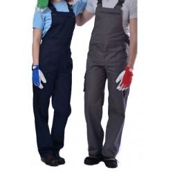 Φόρμα Εργασίας Γκρι Με τιράντα, ERGOLINE 35% Βαμβάκι 65% Πολυεστέρας Φόρμες Εργασίας