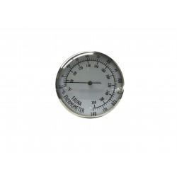 Θερμόμετρο Σάουνας Μεταλλικό 20 +140 °C / °F Γερμανίας Όργανα Μέτρησης