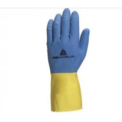 Γάντια Λάτεξ Εργασίας - Νοικοκυριού DUOCOLOR VE330 DELTA PLUS Γάντια Εργασίας